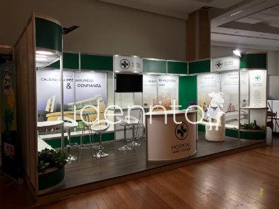 Renta de Stands de aluminio: Hospital Santo Tomás