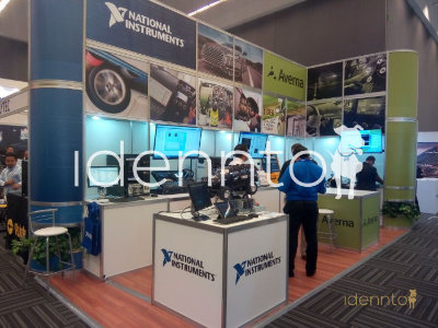 Renta de Stands de aluminio: National Instrument