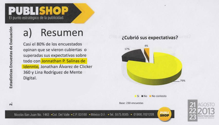 Como vender en expos: Publishop